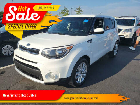 2018 Kia Soul for sale at Government Fleet Sales in Kansas City MO