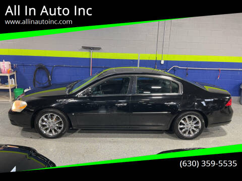 2008 Buick Lucerne for sale at All In Auto Inc in Addison IL