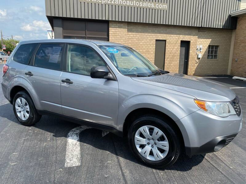 2010 Subaru Forester for sale at C Pizzano Auto Sales in Wyoming PA