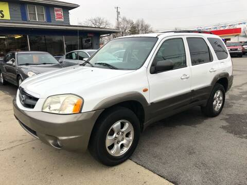 2003 Mazda Tribute for sale at Wise Investments Auto Sales in Sellersburg IN
