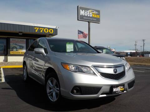 2015 Acura RDX for sale at MotoMaxx in Spring Lake Park MN