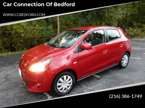 2014 Mitsubishi Mirage for sale at Car Connection of Bedford in Bedford OH
