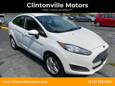 2019 Ford Fiesta for sale at Clintonville Motors in Columbus OH