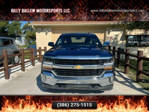 2017 Chevrolet Silverado 1500 for sale at Billy Ballew Motorsports LLC in Daytona Beach FL
