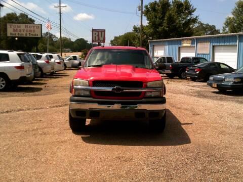 2005 Chevrolet Silverado 1500 for sale at Tom Boyd Motors in Texarkana TX