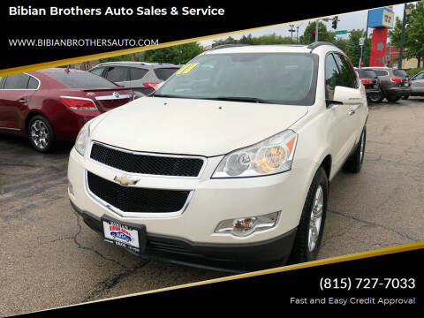 2011 Chevrolet Traverse for sale at Bibian Brothers Auto Sales & Service in Joliet IL