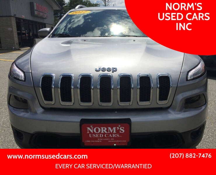 2017 Jeep Cherokee for sale in Wiscasset, ME