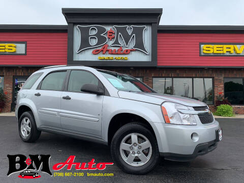 2009 Chevrolet Equinox for sale at B & M Auto Sales Inc. in Oak Forest IL