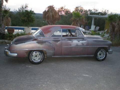 1952 Chevrolet BelAir Deluxe 2Door Hardtop for sale at CarsBikesBoats.com in Round Mountain TX
