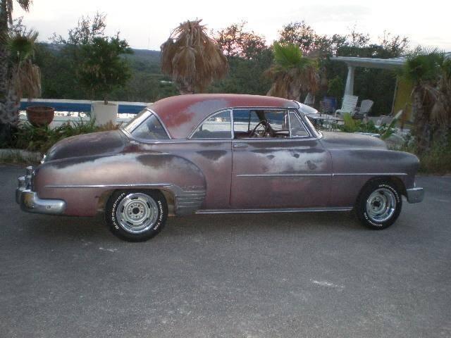 1952 Chevrolet BelAir Deluxe 2Door Hardtop for sale at CarsBikesBoats.com in Round Mountain TX