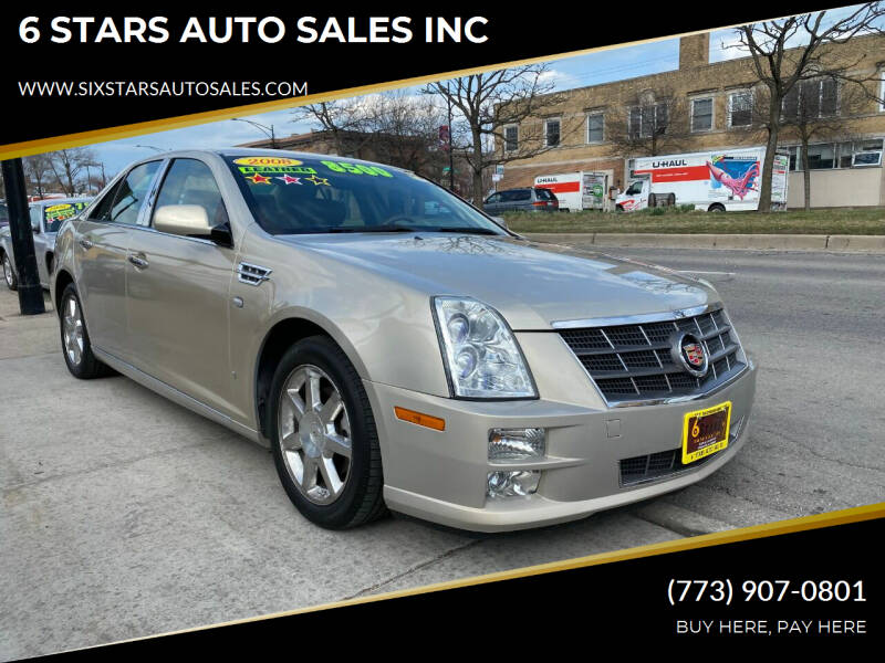 2008 Cadillac STS for sale at 6 STARS AUTO SALES INC in Chicago IL