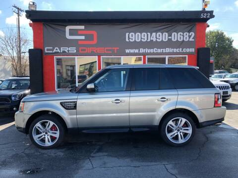 2013 Land Rover Range Rover Sport for sale at Cars Direct in Ontario CA
