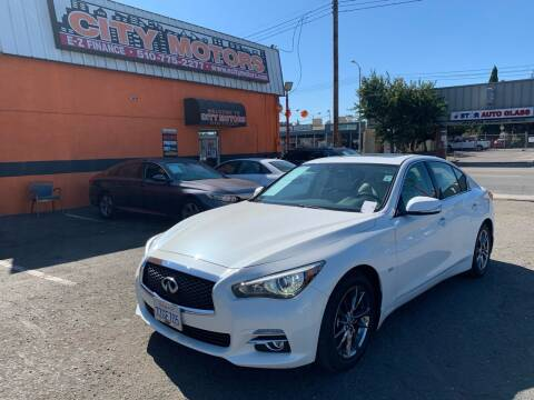 2017 Infiniti Q50 for sale at City Motors in Hayward CA