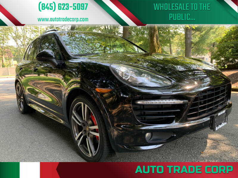 2014 Porsche Cayenne for sale at AUTO TRADE CORP in Nanuet NY