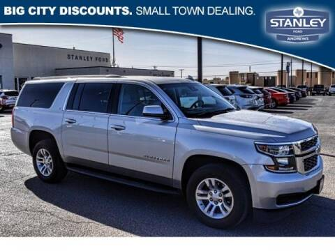 2019 Chevrolet Suburban for sale at STANLEY FORD ANDREWS in Andrews TX