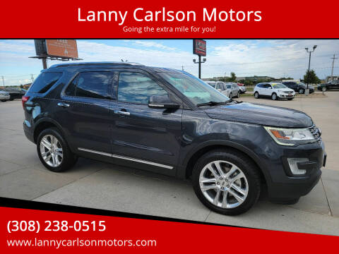 2017 Ford Explorer for sale at Lanny Carlson Motors in Kearney NE