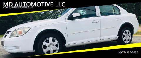 2009 Chevrolet Cobalt for sale at MD AUTOMOTIVE LLC in Slidell LA