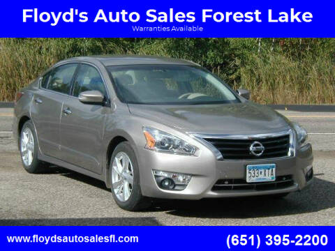 2014 Nissan Altima for sale at Floyd's Auto Sales Forest Lake in Forest Lake MN
