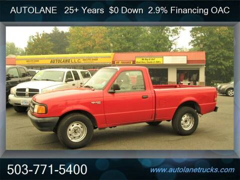 1997 Ford Ranger for sale at Auto Lane in Portland OR