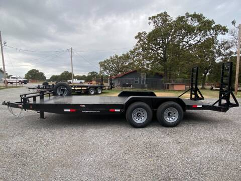 2022 HD 83'x20' Car Hauler Flatbed for sale at TINKER MOTOR COMPANY in Indianola OK