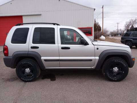 2004 Jeep Liberty for sale at Bennett's Motorsports in Hot Springs SD