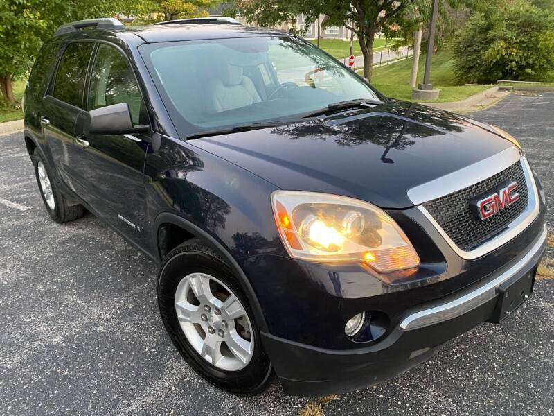 2008 GMC Acadia for sale at Supreme Auto Gallery LLC in Kansas City MO