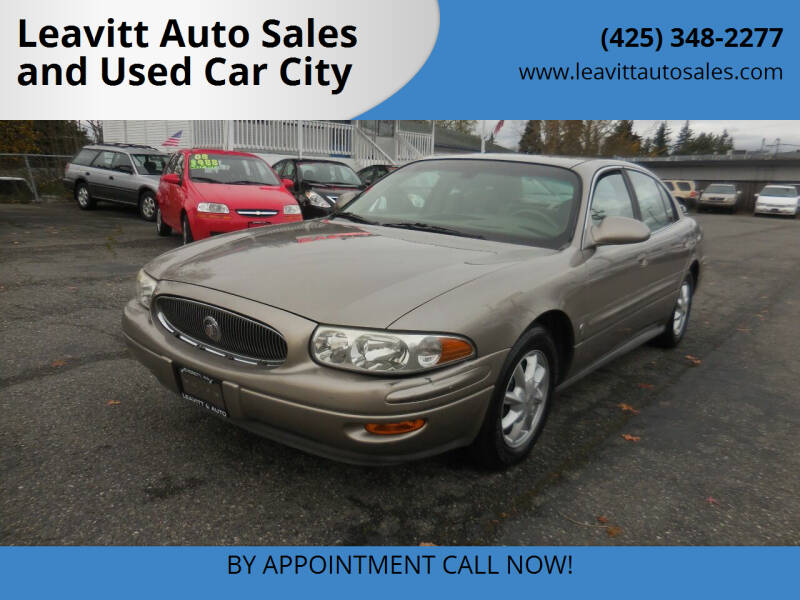 2003 Buick LeSabre for sale at Leavitt Auto Sales and Used Car City in Everett WA