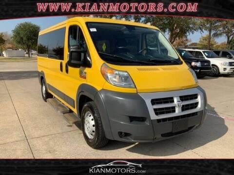2014 RAM ProMaster Cargo for sale at KIAN MOTORS INC in Plano TX