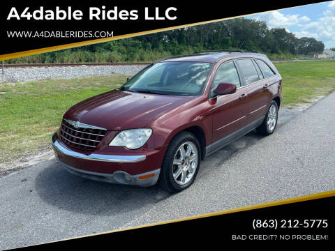 2007 Chrysler Pacifica for sale at A4dable Rides LLC in Haines City FL