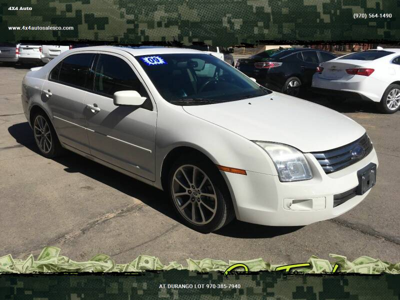 2009 Ford Fusion for sale at 4X4 Auto Sales in Durango CO
