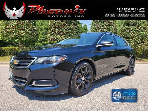2016 Chevrolet Impala for sale at Phoenix Motors Inc in Raleigh NC
