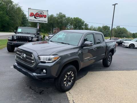 2017 Toyota Tacoma for sale at D-Cars LLC in Zeeland MI