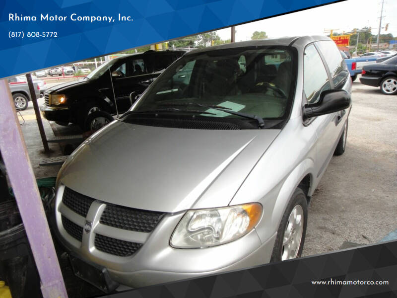2003 Dodge Caravan for sale at Rhima Motor Company, Inc. in Haltom City TX
