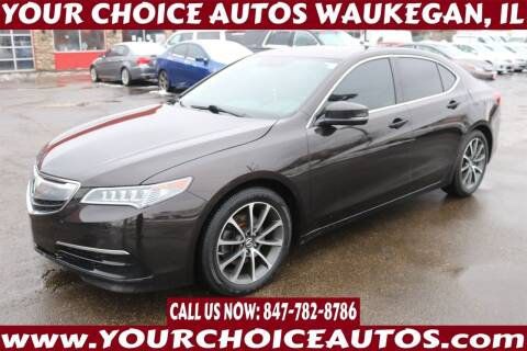 2015 Acura TLX for sale at Your Choice Autos - Waukegan in Waukegan IL