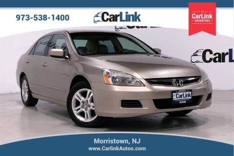 2006 Honda Accord for sale at CarLink in Morristown NJ