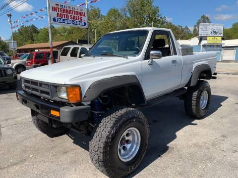 1986 Toyota Pickup for sale at INTERNATIONAL AUTO SALES LLC in Latrobe PA