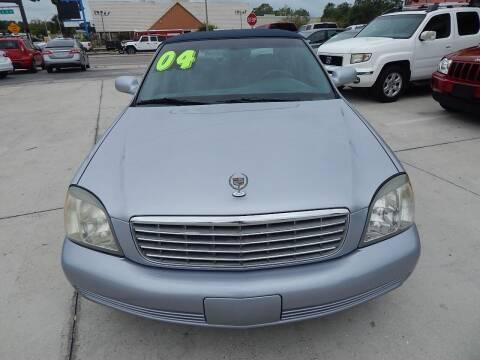 2004 Cadillac DeVille for sale at Auto Outlet of Sarasota in Sarasota FL