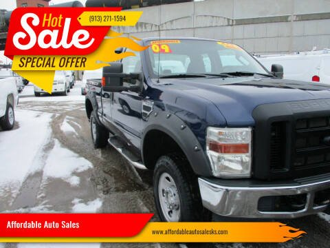 2009 Ford F-250 Super Duty for sale at Affordable Auto Sales in Olathe KS