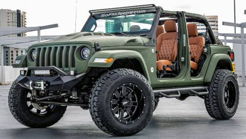 2021 Jeep Wrangler Unlimited for sale at South Florida Jeeps in Fort Lauderdale FL