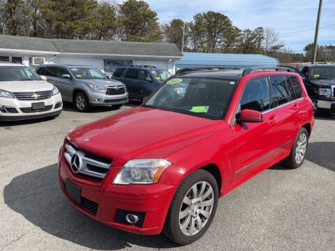 2011 Mercedes-Benz GLK for sale at U FIRST AUTO SALES LLC in East Wareham MA