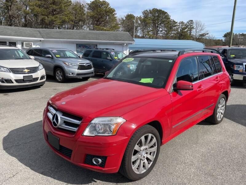 2011 Mercedes-Benz GLK for sale at U FIRST AUTO SALES LLC in East Wareham MA