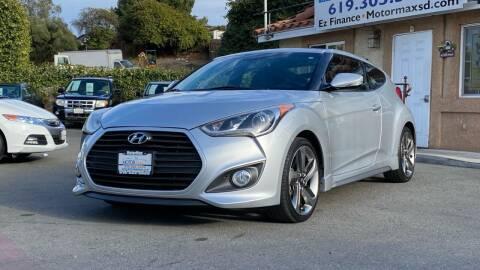 2013 Hyundai Veloster for sale at MotorMax in Lemon Grove CA