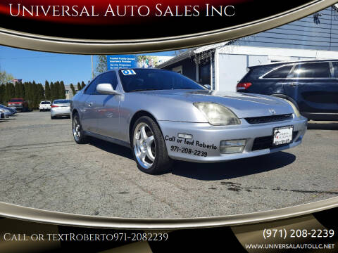 2001 Honda Prelude for sale at Universal Auto Sales Inc in Salem OR