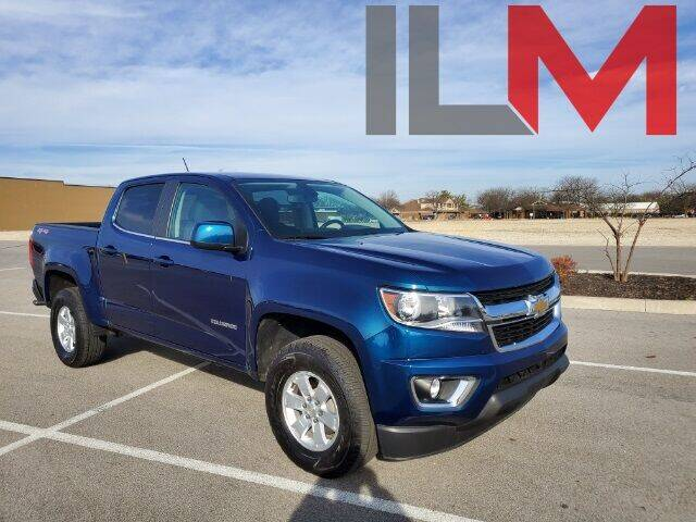 2019 Chevrolet Colorado for sale at INDY LUXURY MOTORSPORTS in Fishers IN