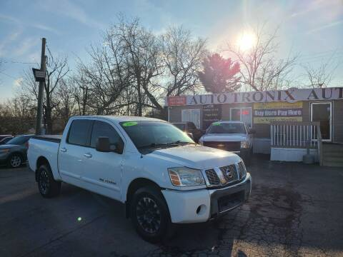 2007 Nissan Titan for sale at Auto Tronix in Lexington KY