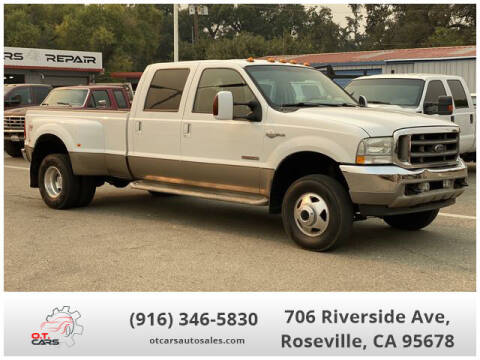 2004 Ford F-350 Super Duty for sale at OT CARS AUTO SALES in Roseville CA