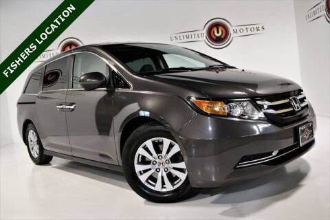 2015 Honda Odyssey for sale at Unlimited Motors in Fishers IN
