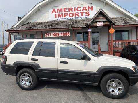 2001 Jeep Grand Cherokee for sale at American Imports INC in Indianapolis IN