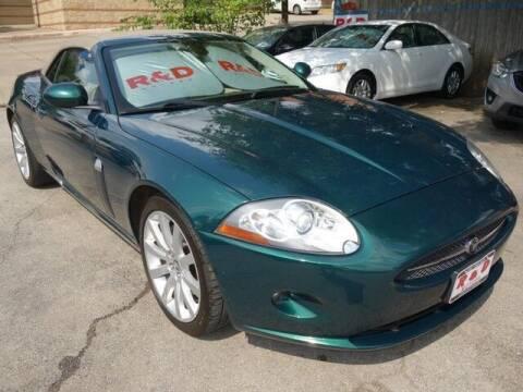 2007 Jaguar XK-Series for sale at R & D Motors in Austin TX