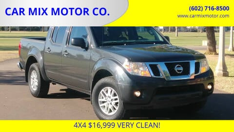 2014 Nissan Frontier for sale at CAR MIX MOTOR CO. in Phoenix AZ